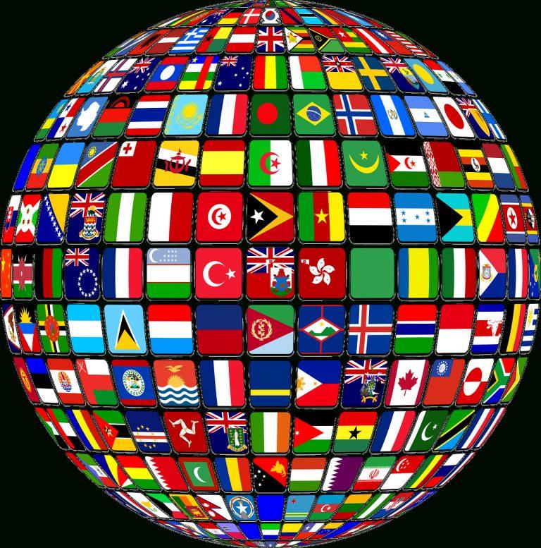 international welt fahnen  kostenlose vektorgrafik auf