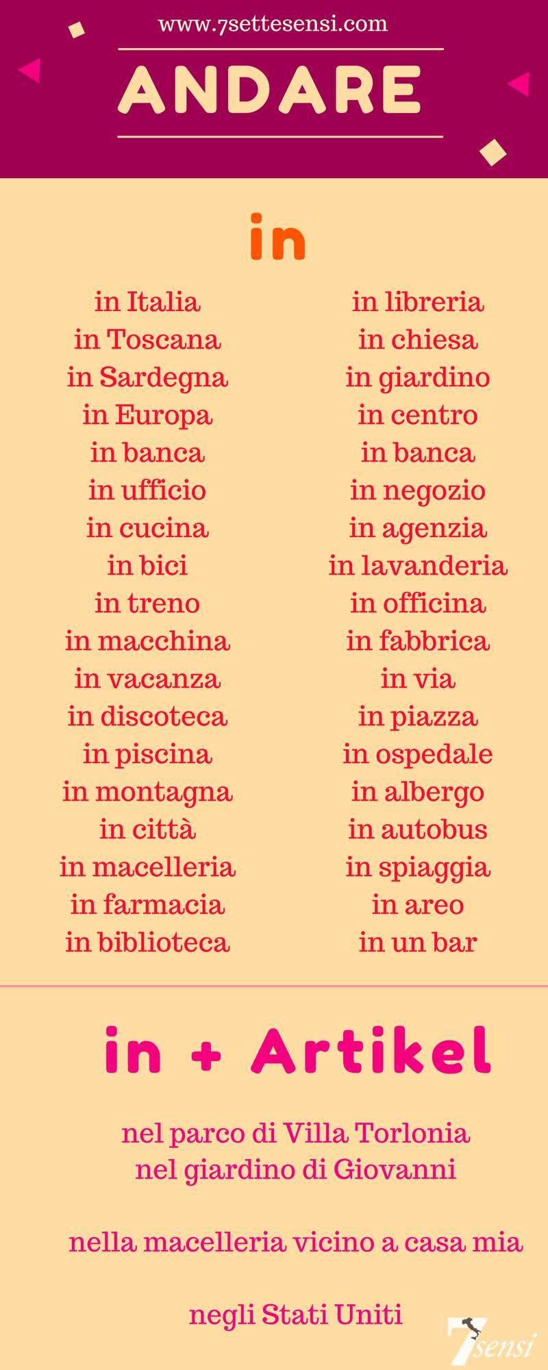 Italienisch - Lerne Die Schönste Sprache Der Welt Auf bestimmt für Wörter Die Mit I Anfangen