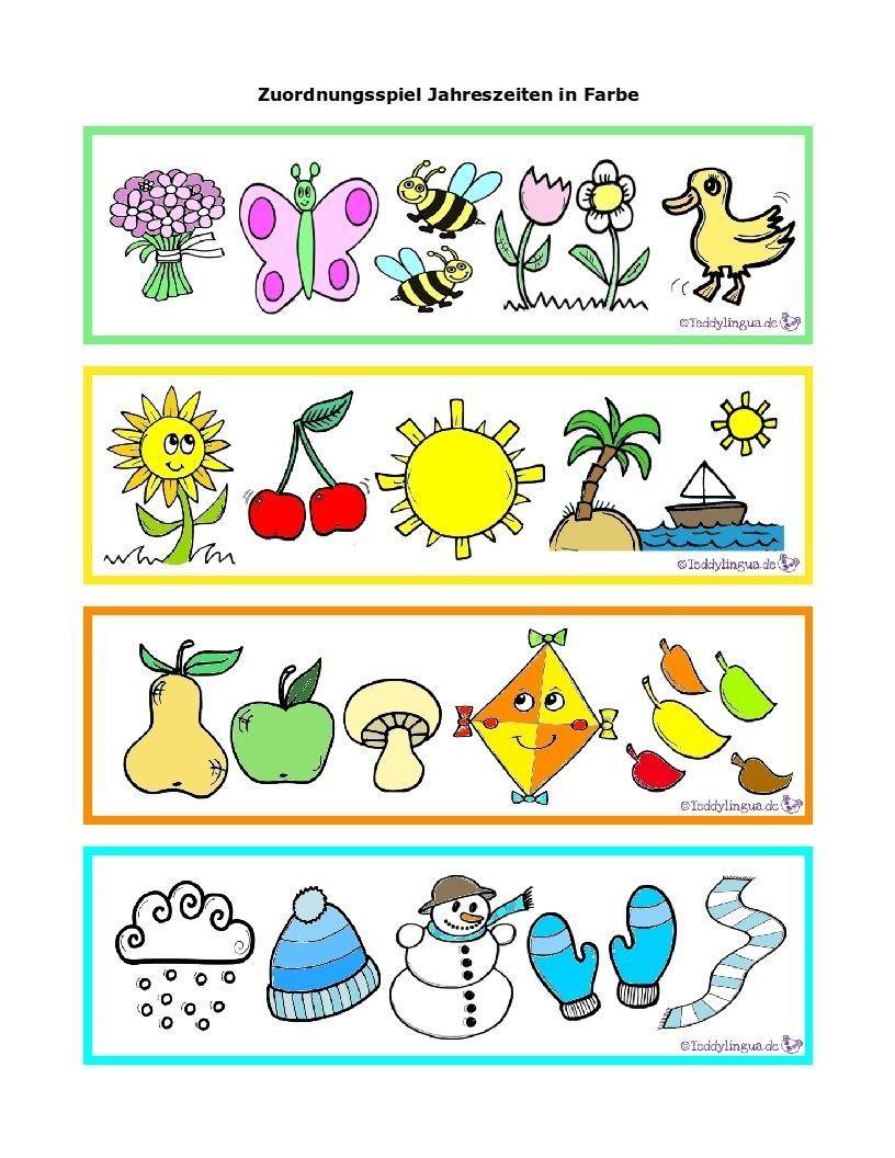 Jahreszeiten Kindergarten Arbeitsblatter Arbeitsblätter ganzes Jahreszeiten Bilder Für Kindergarten