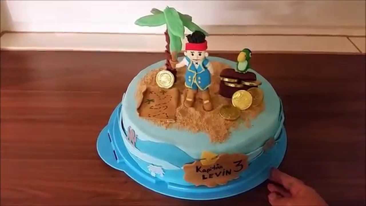 Jake Und Die Nimmerland Piraten Torte Beispiel/ Jake And The Neverland  Pirates Cakes in Jack Und Die Nimmerland Piraten Schiff