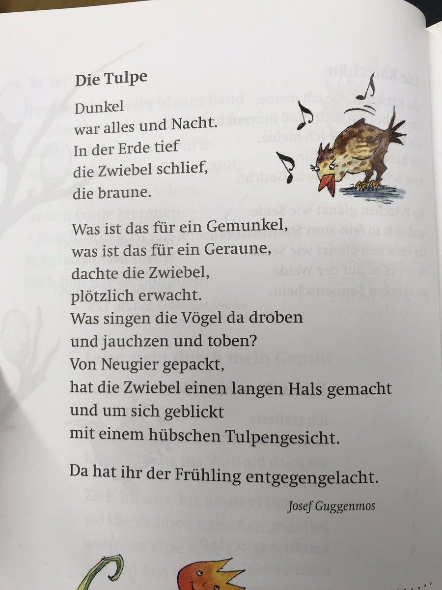 """Jan Günther Twitterissä: """"eine Woche Mit Einem #gedicht: Die verwandt mit Josef Guggenmos Gedichte Grundschule"""