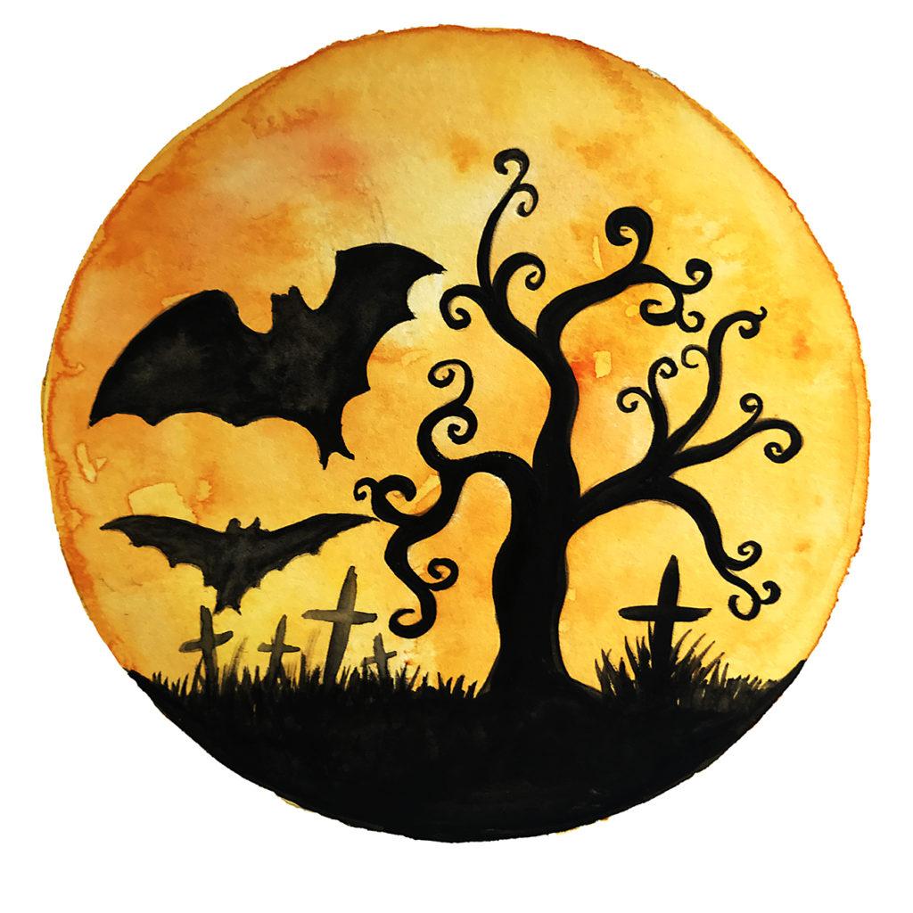 jetzt wird's gruselig  freebie halloween über halloween