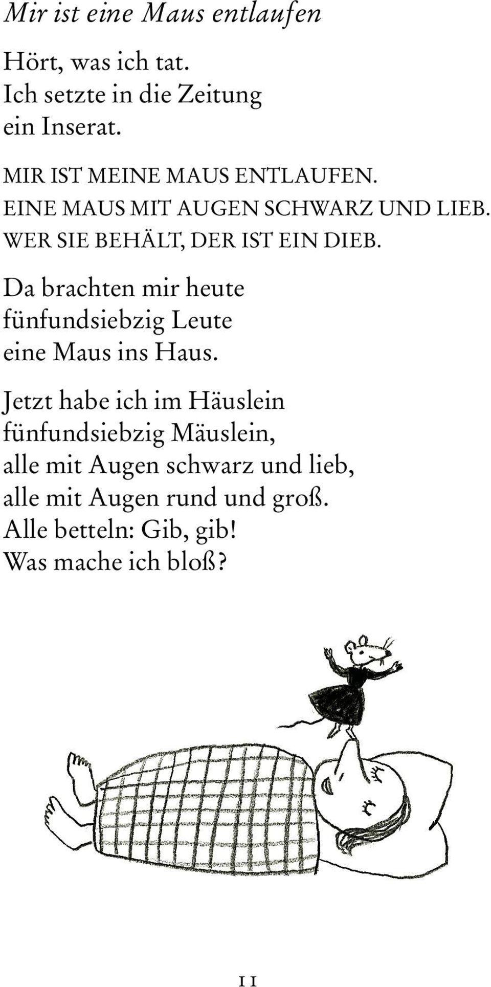 Josef Guggenmos Was Denkt Die Maus Am Donnerstag? - Pdf ganzes Josef Guggenmos Gedichte Grundschule
