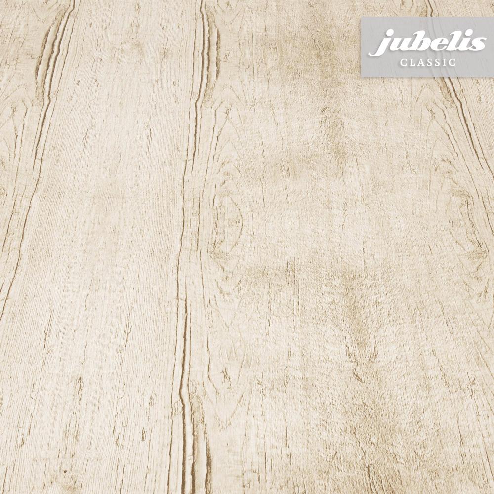 Jubelis® | Wachstuch Holzoptik Braun Ii für Tischdecke Holzoptik
