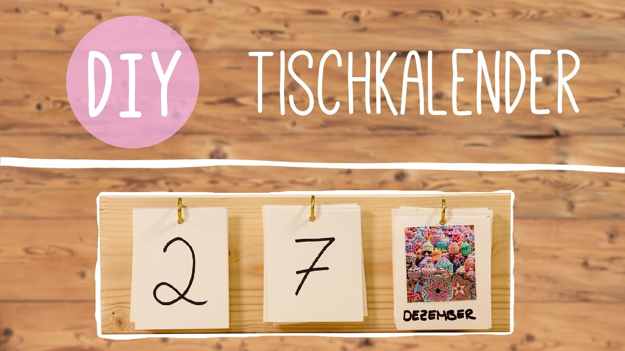 Kalender Selber Machen: Holzkalender Mit Fotos mit Kalender Zum Selber Basteln
