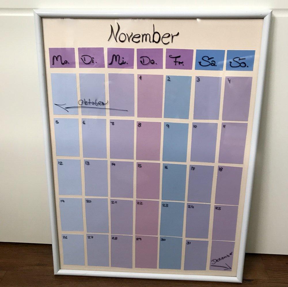 Kalender Selber Machen - In 3 Schritten Zum Diy Kalender 2020 bestimmt für Kalender Zum Selber Basteln