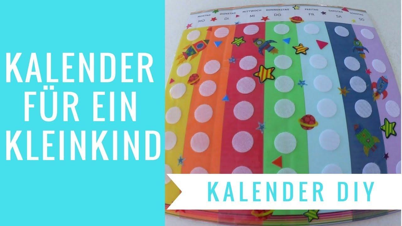 Kalender Selber Machen   Kleinkind   Diy   Wochentage Lernen   Frau Mama ganzes Kalender Basteln Mit Kindern