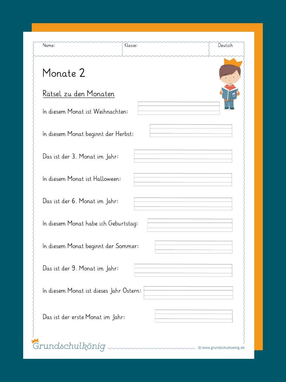 Kalender verwandt mit Arbeitsblätter Grundschule Kostenlos Zum Ausdrucken