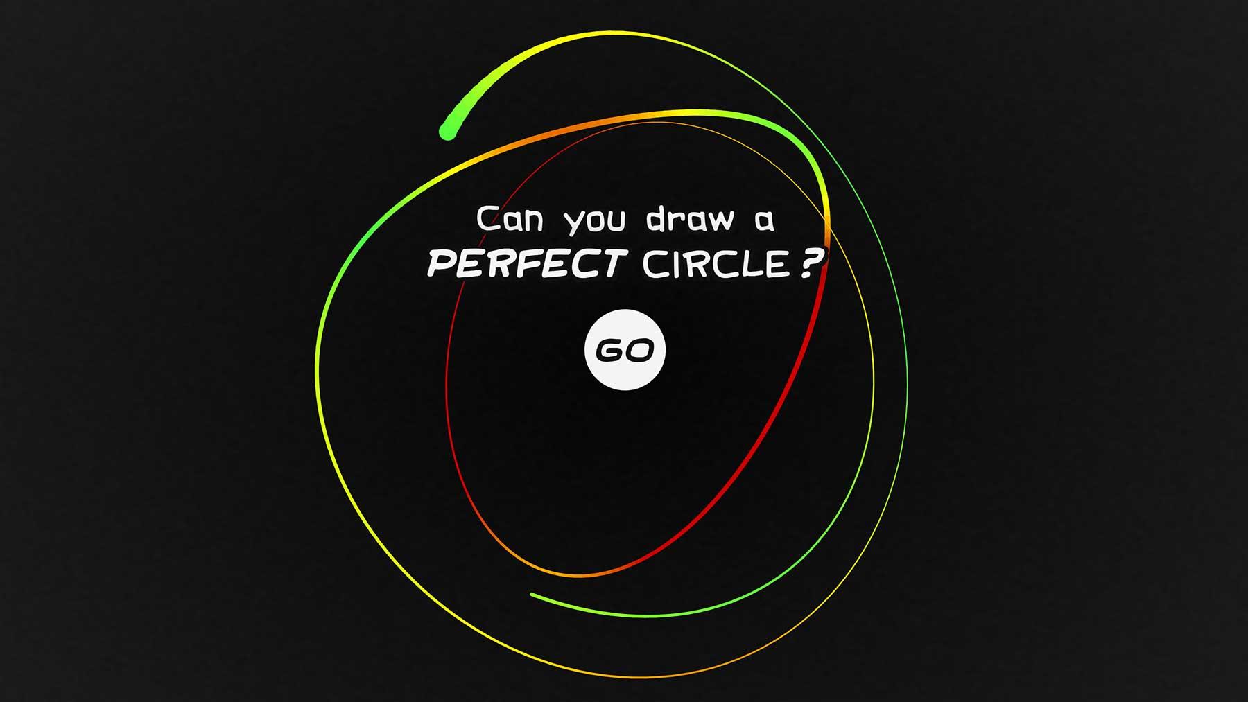 Kannst Du Einen Perfekten Kreis Zeichnen? mit Perfekt Zeichnen