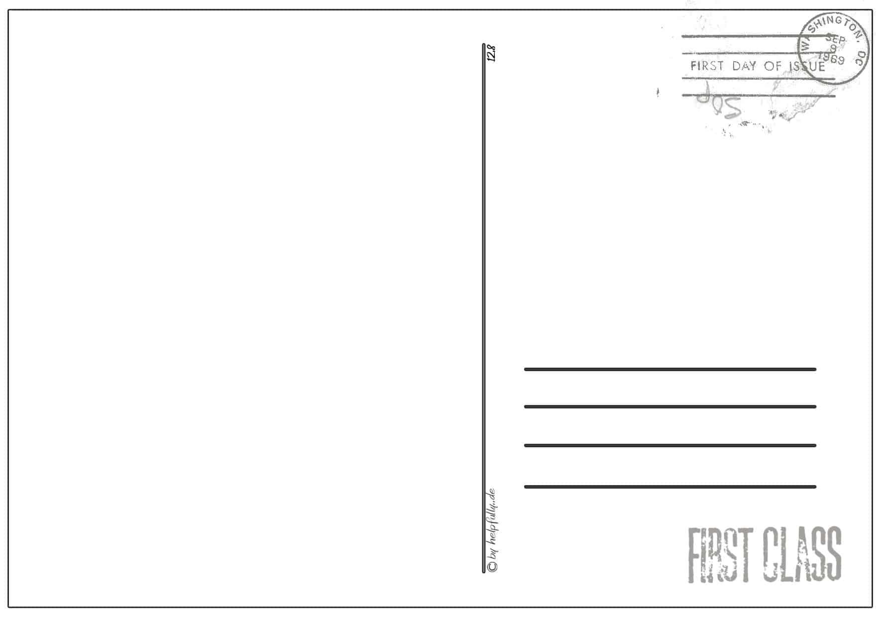 Karten, Postkarten, Einladungen| Gratis Papier-Vorlagen Zum bestimmt für Postkarten Kostenlos Drucken