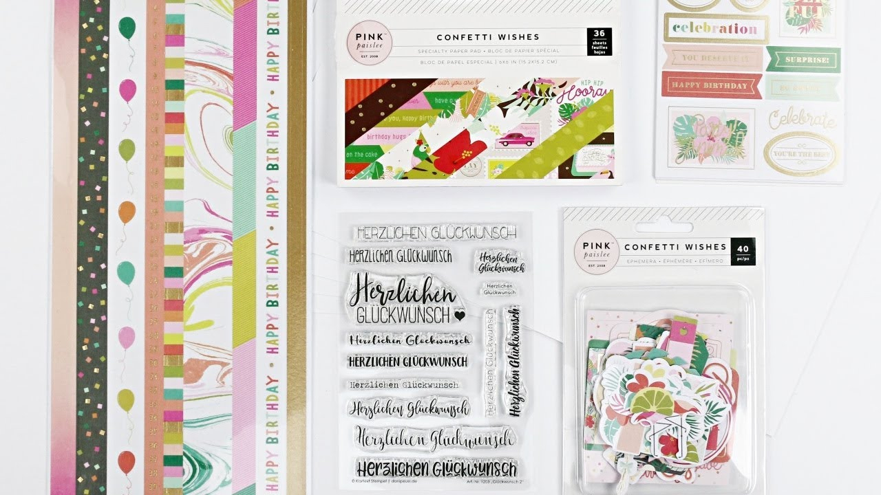 "Karten Sonderkit ""happy Birthday"" | Glückwunschkarten Basteln für Glückwunschkarten Basteln"