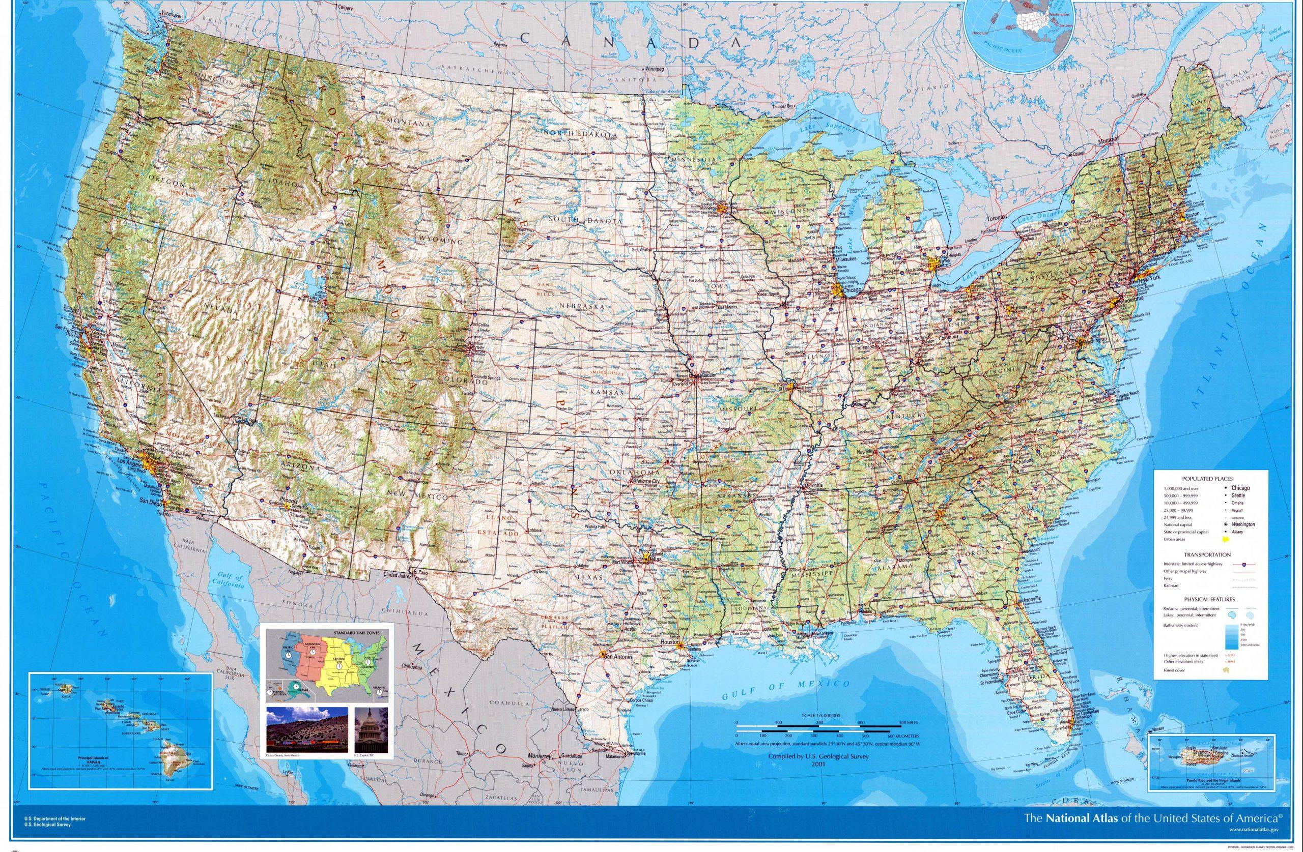 Karten Von Vereinigte Staaten | Karten Von Vereinigte innen Amerika Bilder Zum Ausdrucken