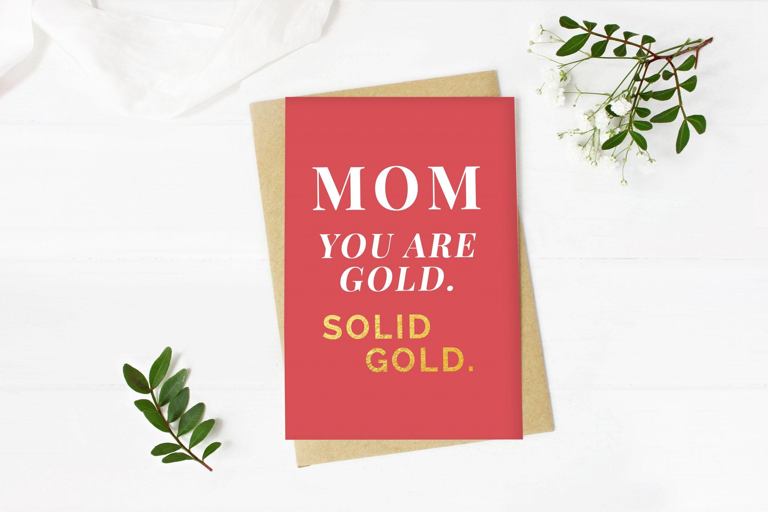 Karten Zum Ausdrucken Für Deine Glückwünsche Zum Muttertag bei Karten Zum Ausdrucken