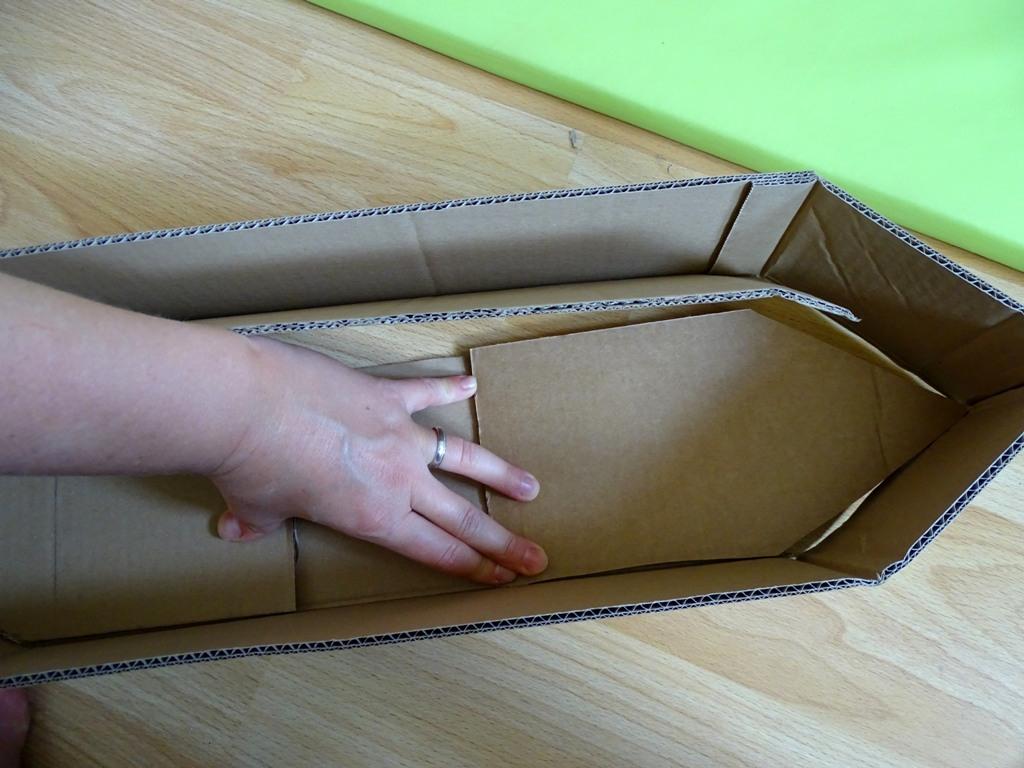 Karton-Upcycling: Wir Basteln Ein Schiff - Vlikeveronika bestimmt für Bastelvorlage Piratenschiff