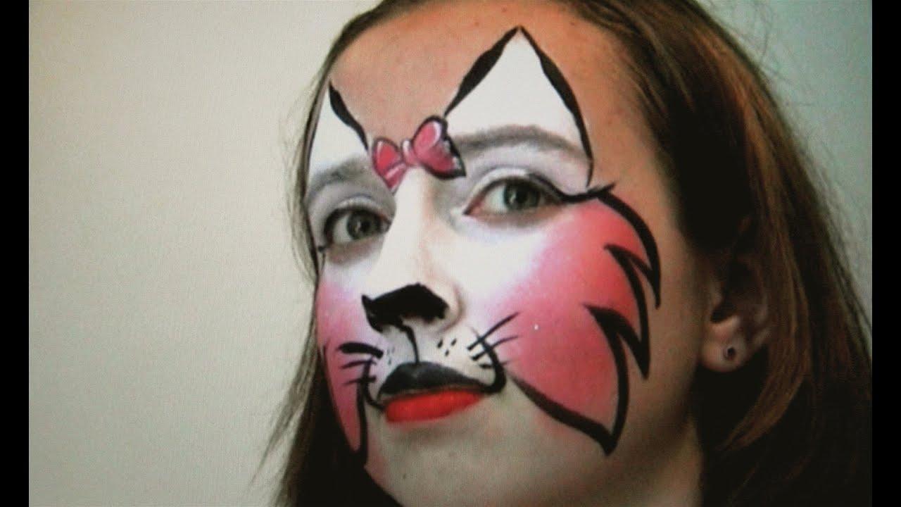 Katze Schminken Für Fasching - Katzengesicht Kinderschminken Anleitung verwandt mit Kinderschminken Katze Vorlagen