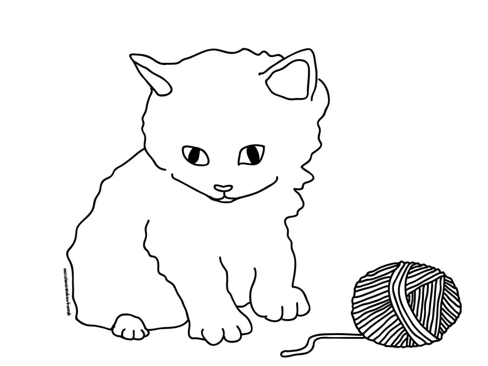 Katzen Bilder Zum Ausmalen mit Katzenbilder Zum Ausdrucken