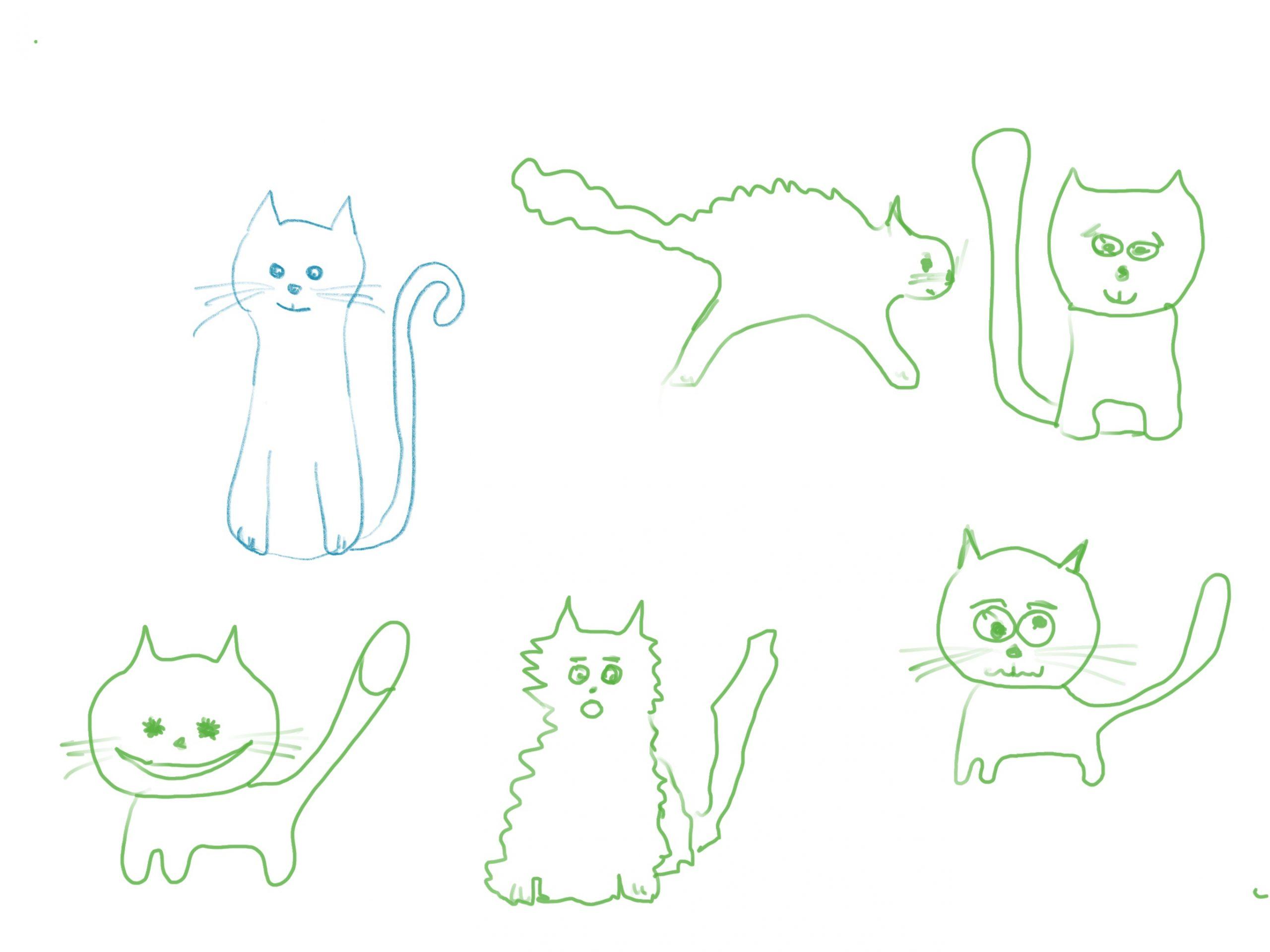 Katzen Malen Leicht Gemacht – Ideen Für Kinder Und Anfänger ganzes Malen Für Kindern Kostenlos
