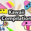 Kawaii Malen Compilation | Süße Bilder Zeichnen | Kawaii Kuchen, Eis,  Muffin, Einhorn Und Mehr innen Süße Bilder Zum Zeichnen