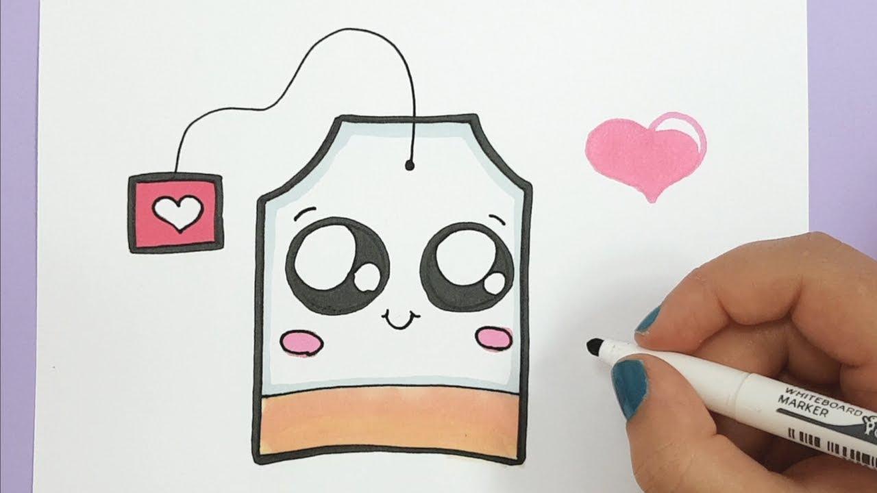 Kawaii Teebeutel Selber Malen - Einfach mit Schöne Bilder Zum Nachmalen