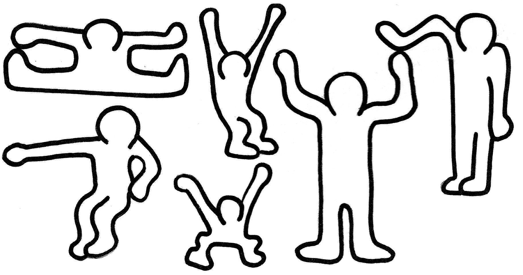 Keith Haring - Validées   Kunst, Kunststunden über Keith Haring Malvorlagen