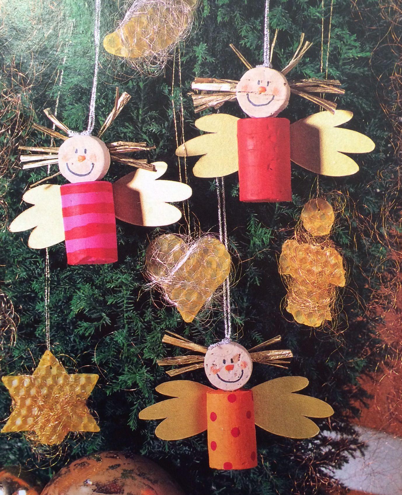 Kerstknutselen: Leuk Om Met De Kinderen Te Maken! Kerst bestimmt für Christbaumschmuck Basteln Mit Kindern