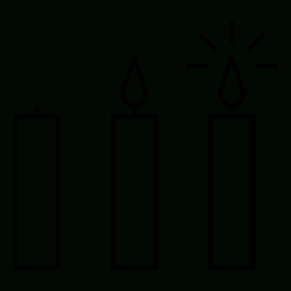 Kerzen Ausmalbilder - Ultra Coloring Pages mit Kerzen Ausmalbilder