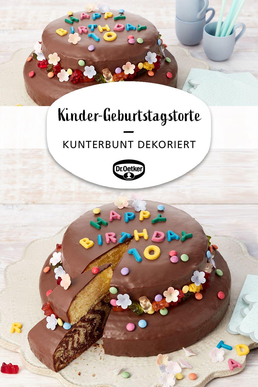 Kinder-Geburtstagstorte | Rezept | Kuchen Und Torten bei Torten Für Kindergeburtstag Rezepte