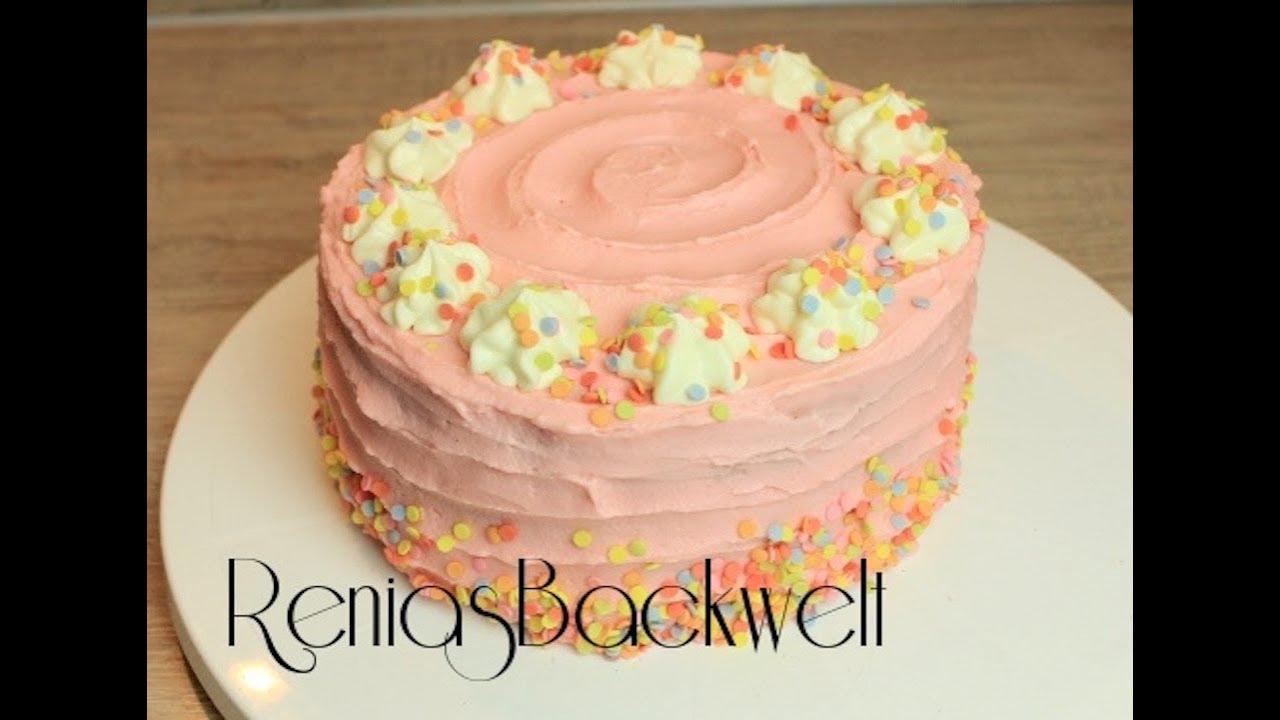 Kinder Geburtstagstorte Wahnsinnig Einfach & Lecker 🎂 bei Geburtstagstorte Für Kinder