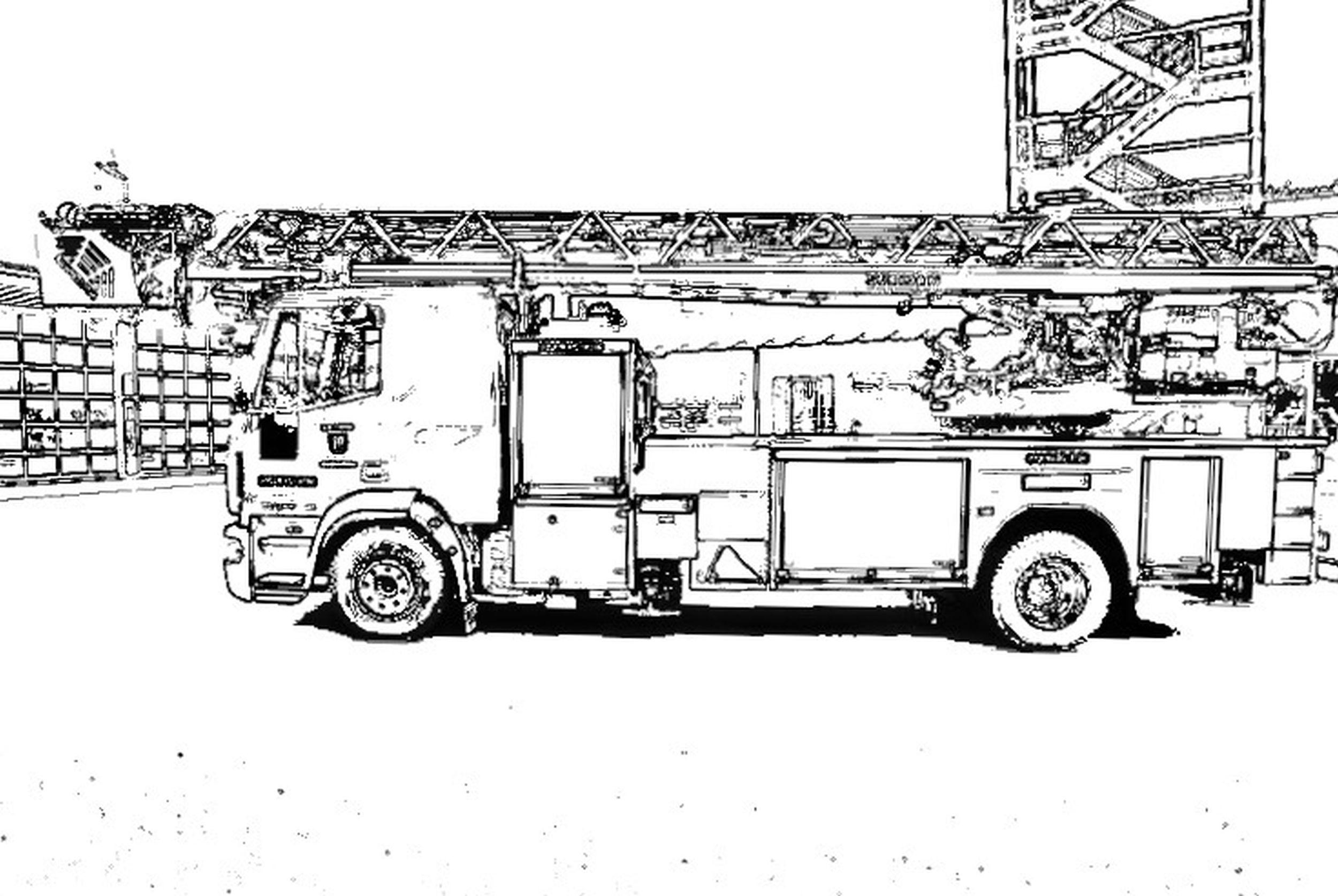 Kinderaktion – Ausmalbilder – Feuerwehr Ibbenbüren für Ausmalbild Feuerwehr