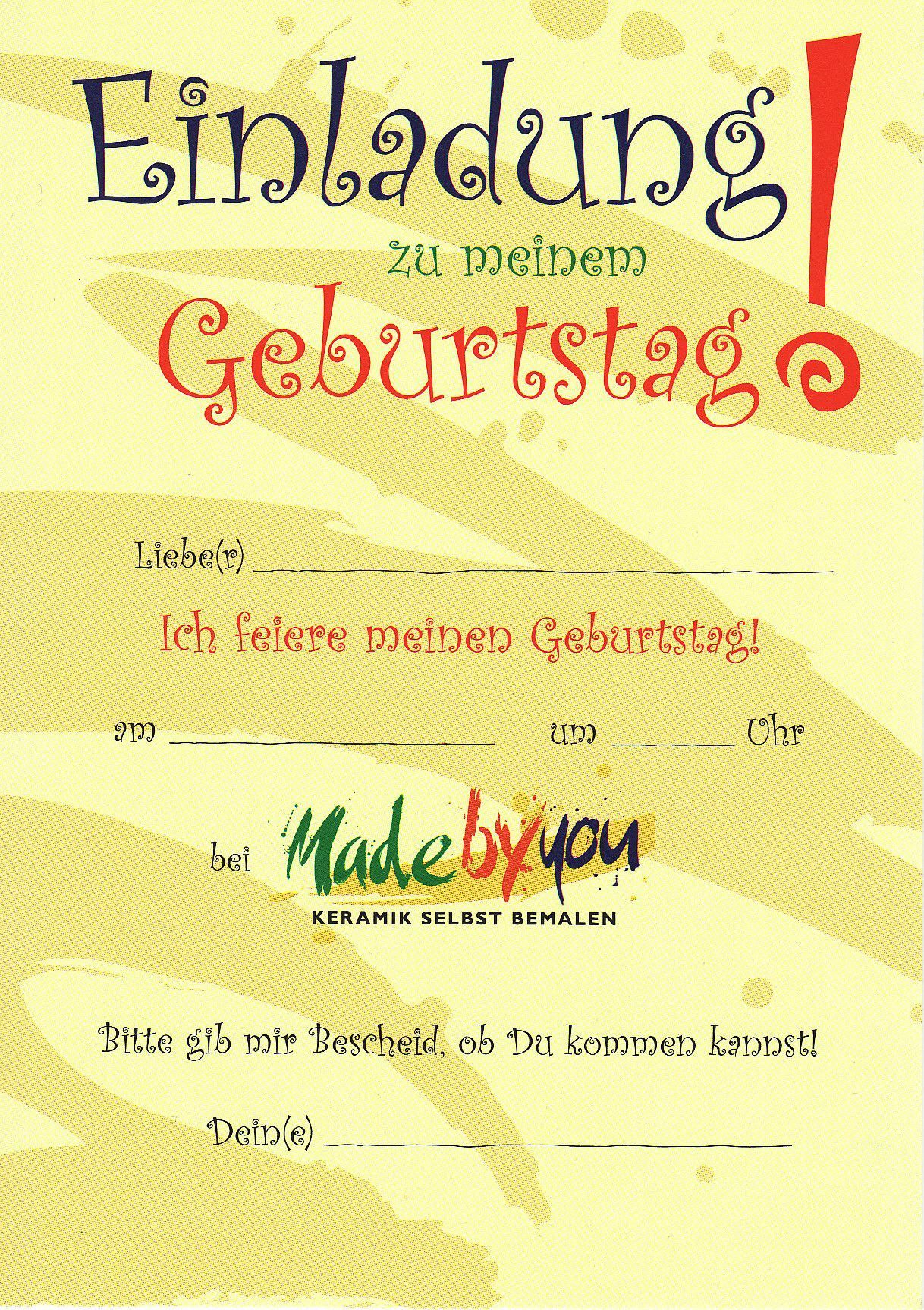 Kindergeburtstag-Einladungen-Zum-Ausdrucken-Kostenlos bei Einladungskarten Zum Ausdrucken Kinder