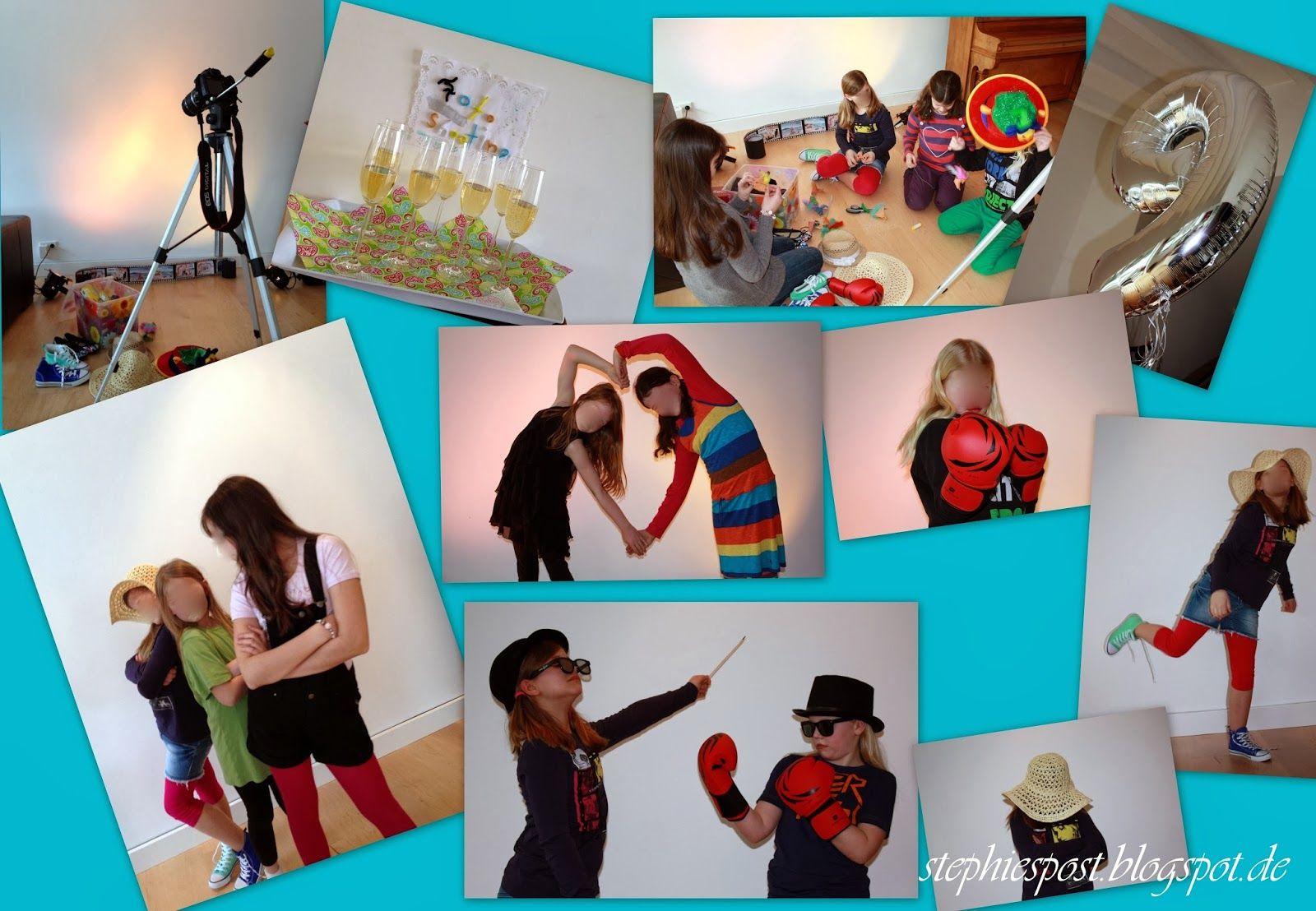 Kindergeburtstag Für Große Mädchen { Fotoshooting-Party (Mit in Kindergeburtstag Ideen Für 13 Jährige