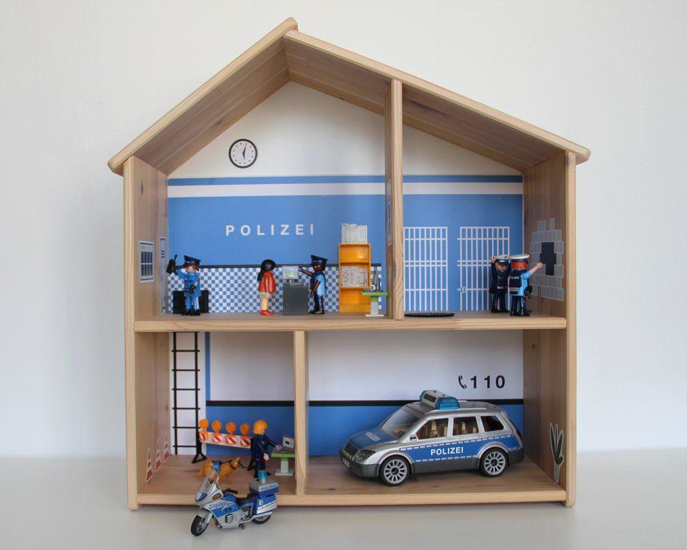 Kindergeburtstag Polizei: Diy Zubehör Zum Kostenlosen für Polizeiwache Playmobil