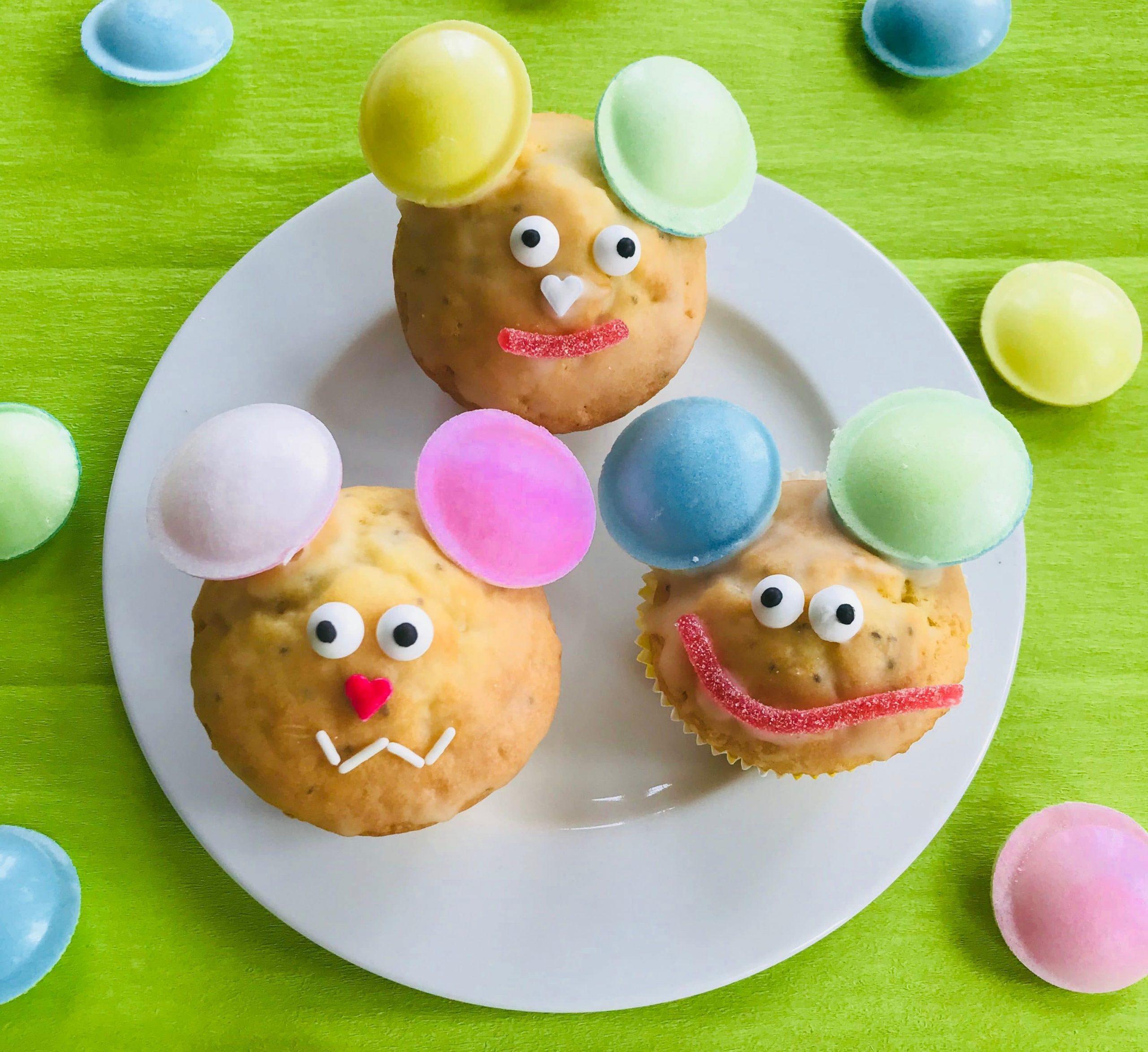 Kindergeburtstag: Saftige Zitronenmuffins Mit Lustigen Motiven - mit Lustige Muffins Für Kindergeburtstag