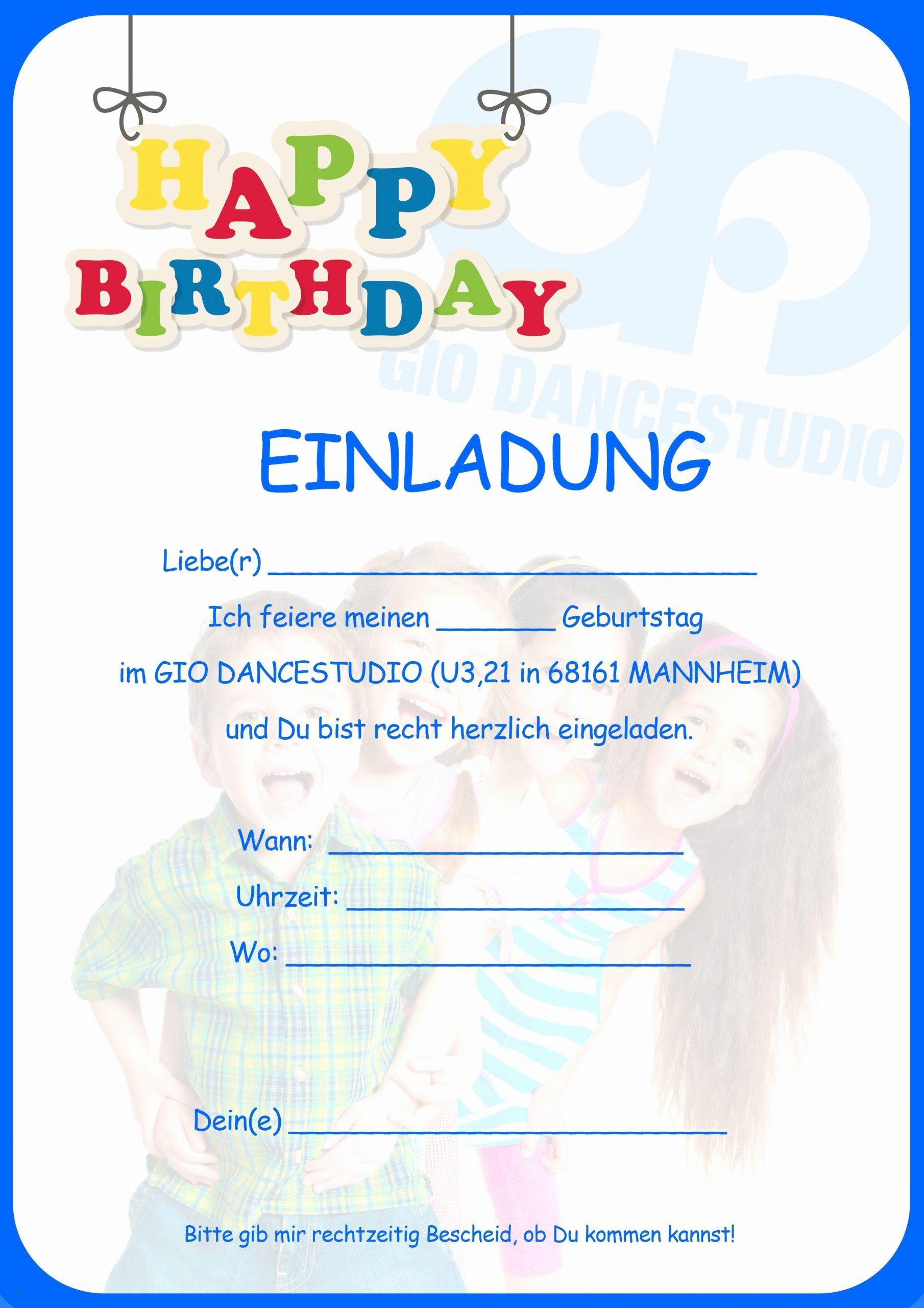Kindergeburtstagseinladungen Zum Ausdrucken Kostenlos Schön ganzes Einladungskarten Zum Ausdrucken Kinder