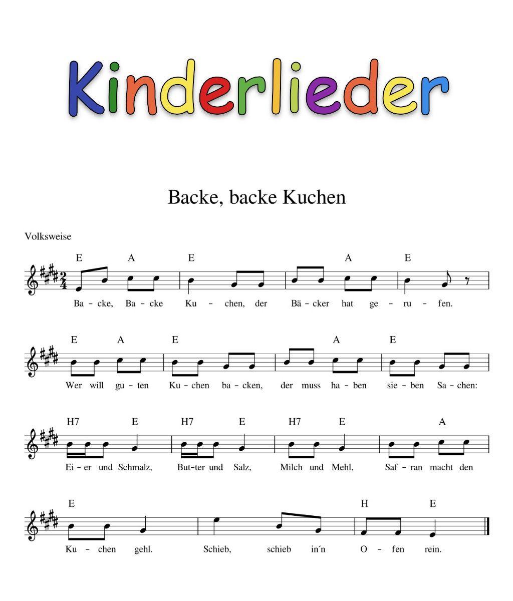 Kinderlieder Mit Noten | Kinder Lied, Kinderlieder innen Guten Tag Ich Bin Der Nikolaus Akkorde