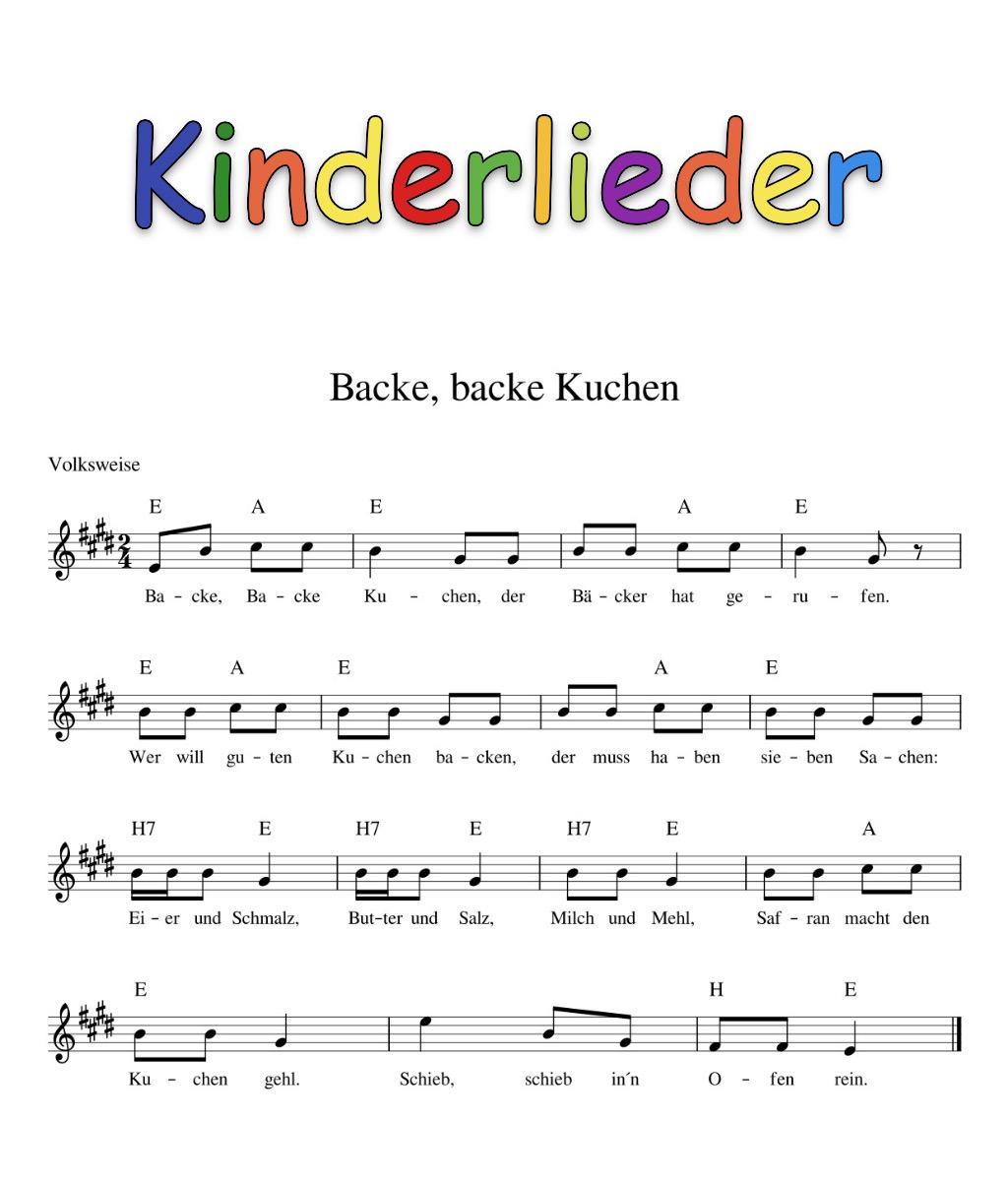 Kinderlieder Mit Noten - Kinderlieder - Noten - Text für Deutsche Weihnachtslieder Mp3 Kostenlos