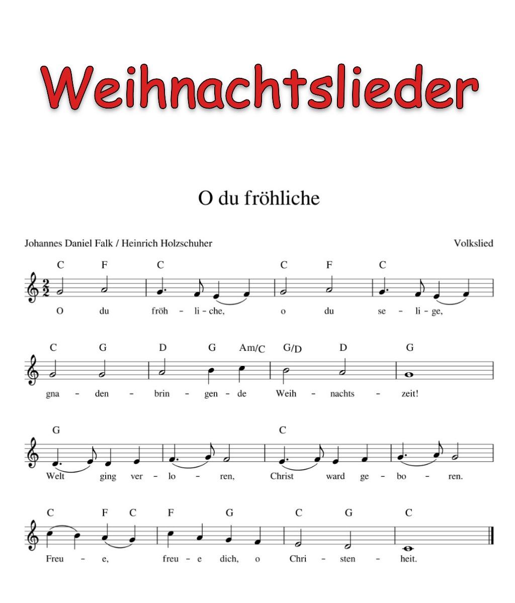 Kinderlieder Mit Noten - Kinderlieder - Noten - Text in Texte Weihnachtslieder Deutsch Kostenlos