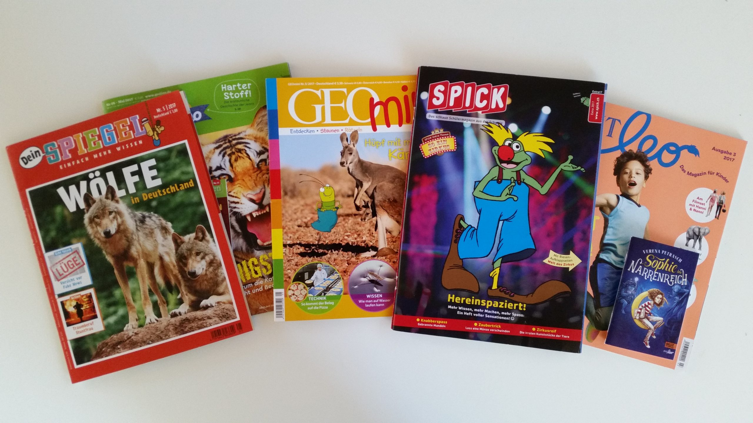 Kindermagazine Im Test bei Zeitschriften Für Kindergartenkinder