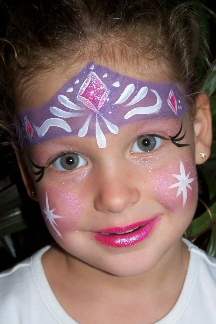 Kinderschminken Vorlagen Für Gesichtsbemalung - Einfach Und Süß bei Schminkvorlagen Kinderschminken Zum Ausdrucken