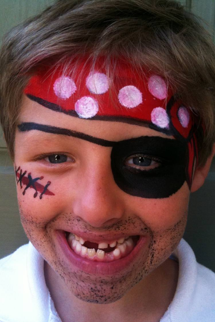 Kinderschminken Vorlagen Für Gesichtsbemalung - Einfach Und Süß über Schminkvorlagen Kinderschminken Zum Ausdrucken