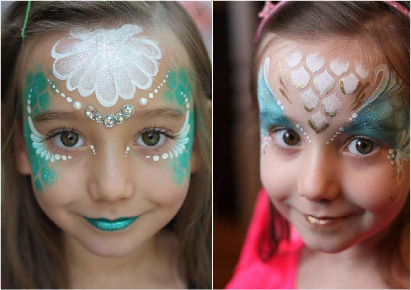Kinderschminken Vorlagen Für Gesichtsbemalung - Einfach Und Süß verwandt mit Schminkvorlagen Kinderschminken Zum Ausdrucken