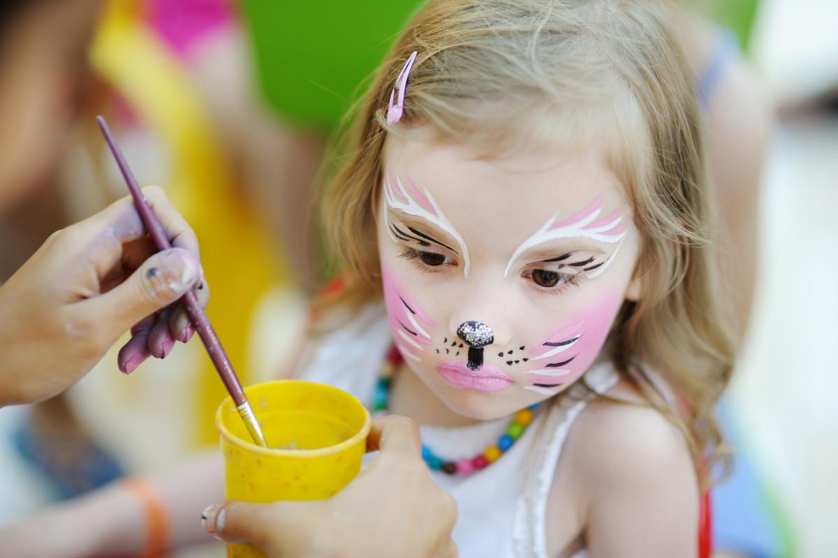 Kinderschminken Vorlagen: Katze für Kinderschminken Katze Vorlagen
