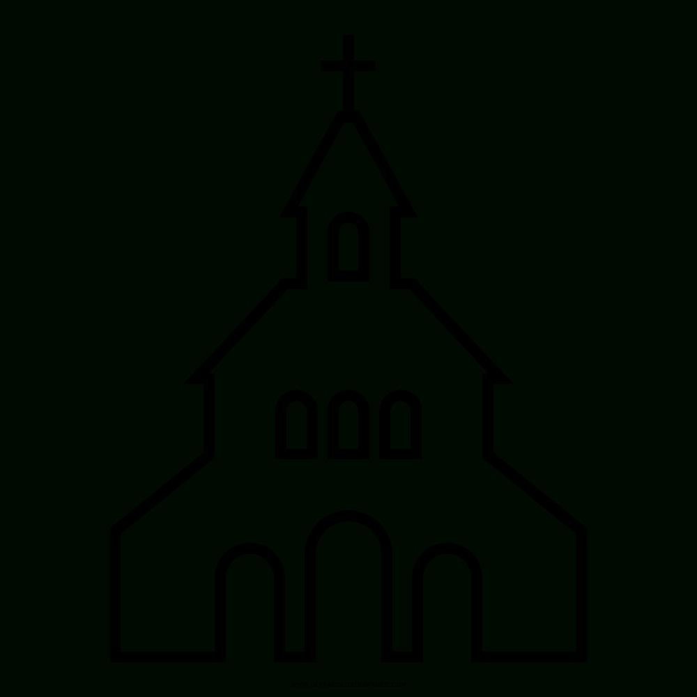 Kirche Ausmalbilder - Ultra Coloring Pages mit Ausmalbild Kirche