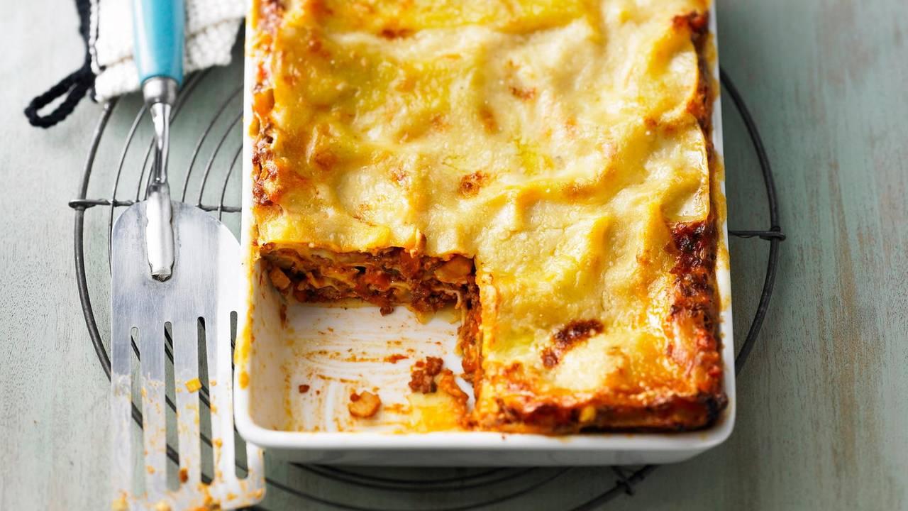 Klassische Lasagne für Lasagne Mit Hackfleisch Und Bechamelsauce