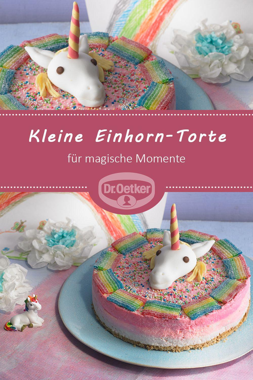 Kleine Einhorn-Torte | Rezept | Herzhafte Kuchen für Torte Für Geburtstag