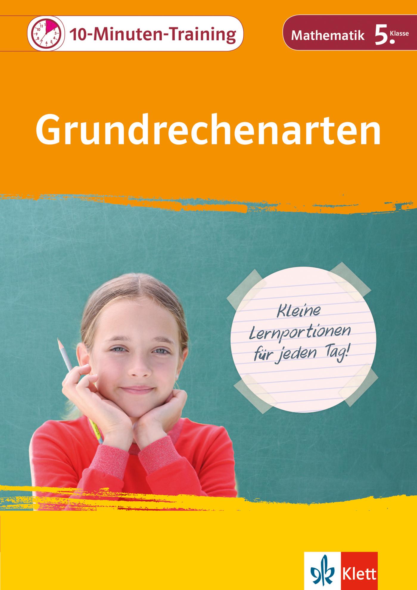 Klett 10-Minuten-Training Mathematik Grundrechenarten 5 über Mathe Online Lernen 5 Klasse Gymnasium