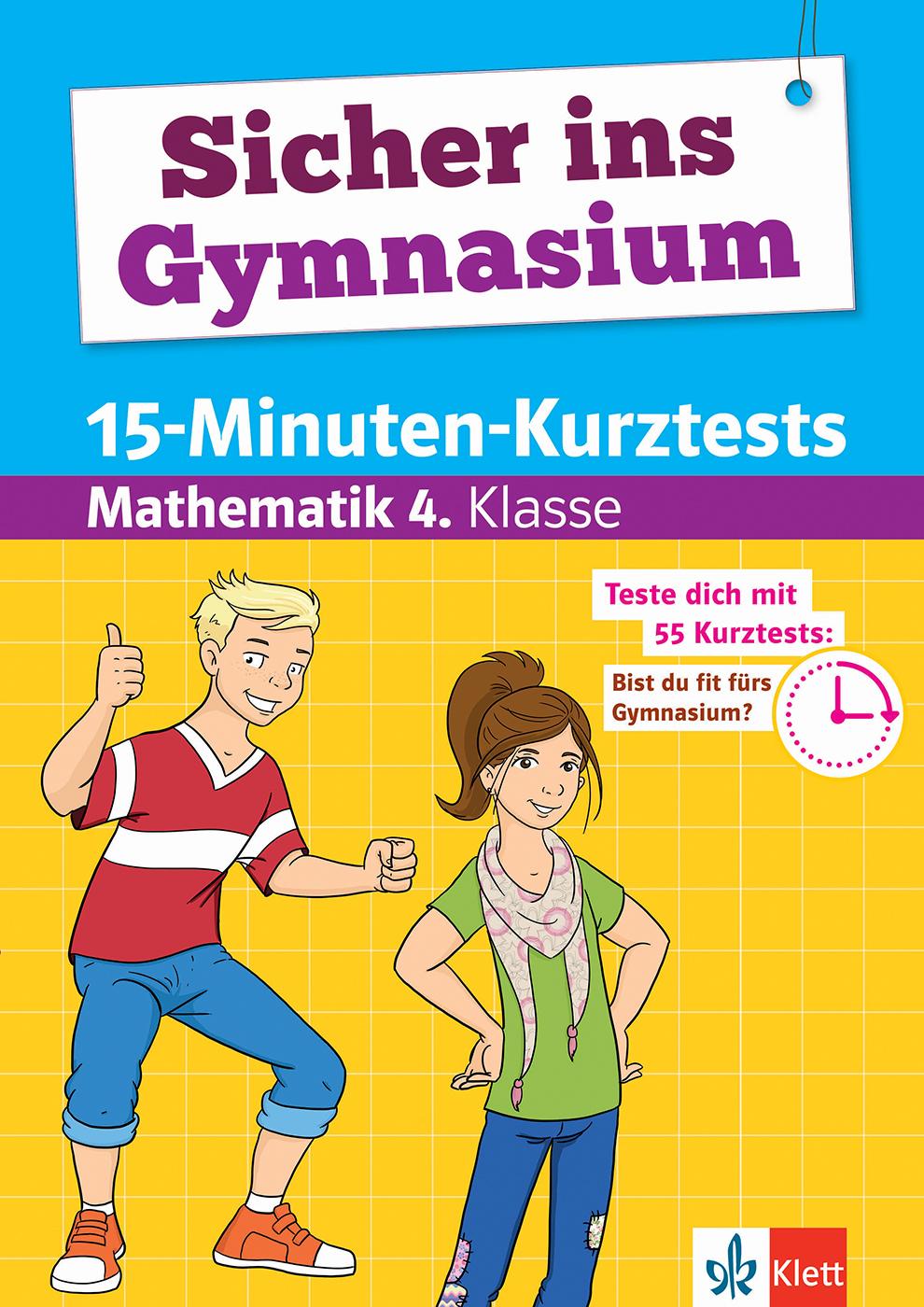 Klett Sicher Ins Gymnasium 15-Minuten-Kurztests Mathematik 4 über Mathe Online Lernen 5 Klasse Gymnasium