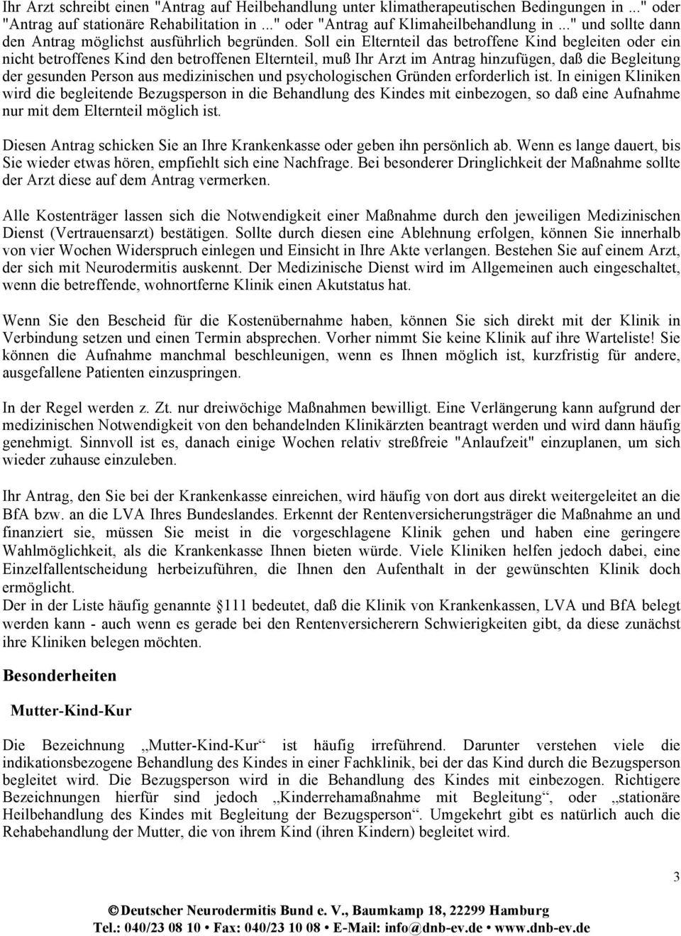 Kliniken Für Neurodermitiker - Pdf Free Download ganzes Wie Lange Dauert Ein Kurantrag Bis Zur Bewilligung