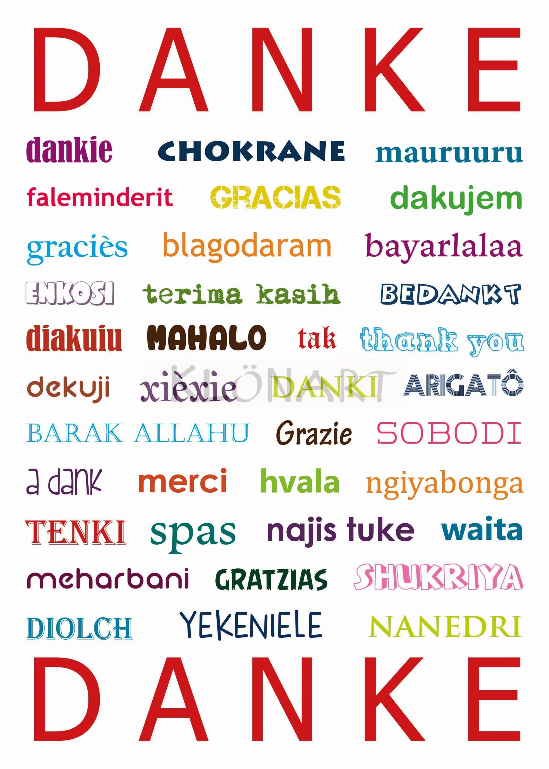 Klönart - Kartenkunst Und Mehr Postkarte Buchstaben + Worte innen Wörter Mit N