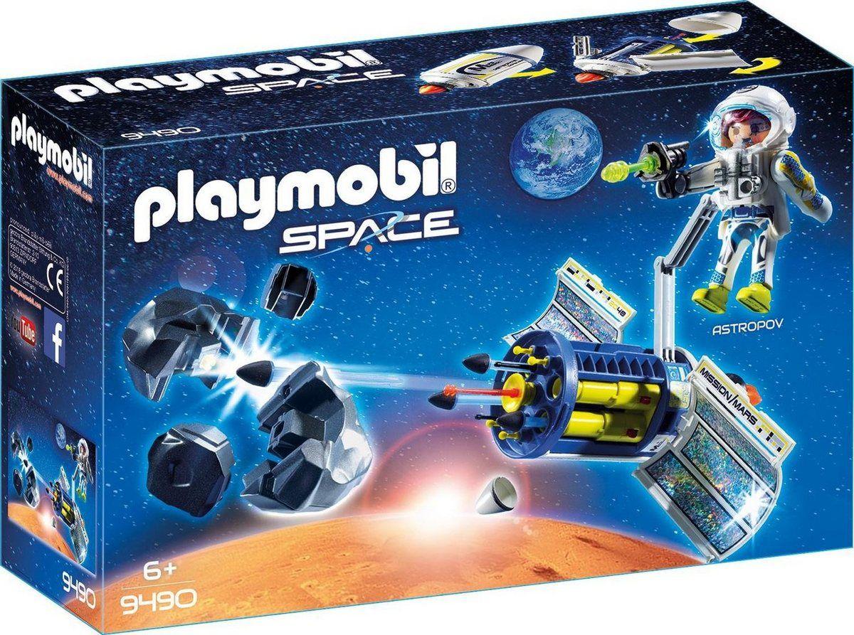 Konstruktions-Spielset »Meteoroiden-Zerstörer (9490), Space für Playmobil Raumstation